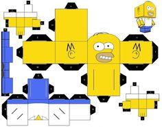 Figuras de los simpsons