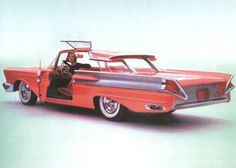 1955 Mercury XM-8100 Turnpike Cruiser concept car....fabulous.....