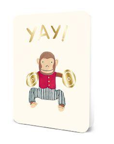 Deluxe Card Set- Yay! Monkey