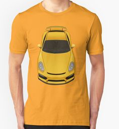 Porsche cayman GT4 (yellow) by Subspeed