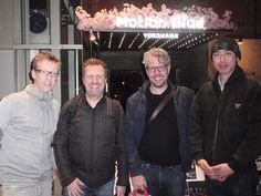 Morten Lund, Jacob Christoffersen & Kasper Vadsholdt@Motion Blue YOKOHAMA(2015.04.03)