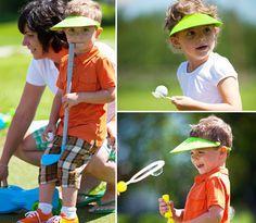 Golf birthday party.