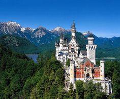 Bellisimo castillo en Babaria, Alemania.