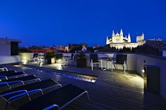 online hotel reservations in Hotel Tres Hotel Reservations, Rooftop Terrace, Old Town, Contemporary Design, National Parks, Around The Worlds, Relax, Spain, Mansions