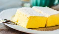 Rezept für einen leichten Low Carb Quarkkuchen - kohlenhydratarm, kalorienarm, ohne Zucker und Getreidemehl