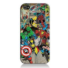 iphone 6 plus cases marvel
