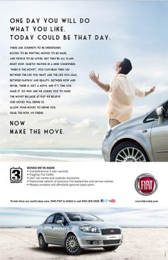 Part of our promotional package for Fiat India