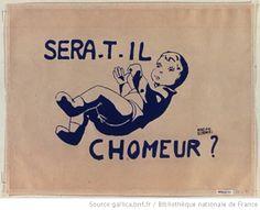 [Mai 1968]. Sera-t-il chômeur ?, Faculté des sciences : [affiche]