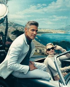 "George Clooney and model Gemma Ward from 2006 Vanity Fair story, ""Already A Classic"""