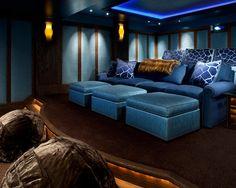 Contemporary Media Room Design