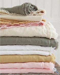 Eileen Fisher Washed Linen Bedding - Earthenware, Eileen Fisher, Washed Linen, Bedding