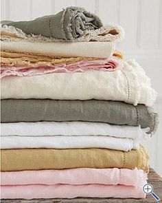 Eileen Fisher Washed Linen Bedding - Earthenware, Eileen Fisher, Washed Linen, Bedding