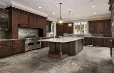 Kitchen Tile Floor Ideas Amusing Kitchen Tile