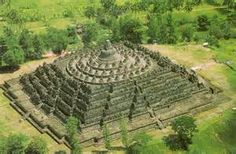 A temple borobudur in magelang, central java on the island of indonesia