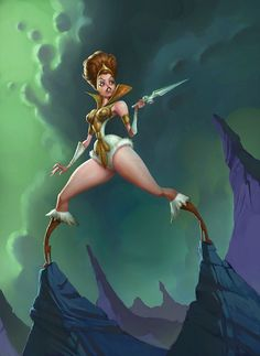 Masters of the Universe: Teela by *Artsammich on deviantART