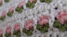 crochet tulip stitch - YouTube