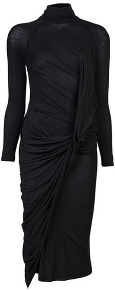 Donna Karan Double Layer Dress. I don't know why but I really like. I could fancy it up.