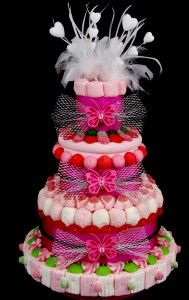 gateau bonbons mariages