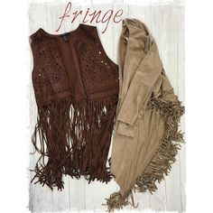 Rock that boho look with some suede and fringe! These two awesome festival ready pieces are only $12 at our Harwood Heights location!!! http://ift.tt/2aS4rrK - http://ift.tt/1HQJd81