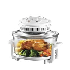 Better Cooking Through Convection Hot air circulating through your oven cooks food more evenly, at lower temperatures, and often with b. Halogen Oven Recipes, Nuwave Oven Recipes, Convection Oven Cooking, Countertop Convection Oven, Cooking Appliances, Kitchen Appliances, Air Fryer Recipes, Fun Cooking, How To Cook Pasta
