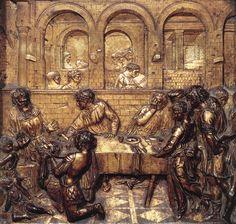 EL FESTÍN DE HERODES. (Donatello)