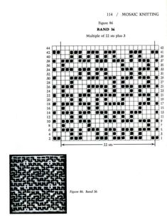Mosaic Knitting Barbara G. Walker (Lenivii gakkard) Mosaic Knitting Barbara G. Walker (Lenivii gakkard) #119