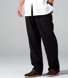 2 colors men pantsloose trouserslinen pants for by Sunflowercloth, $188.00