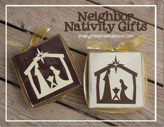 25 Neighbor Gift Ideas  by Everyday Art