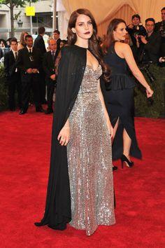 Lana Del Rey at The Met Gala 2012