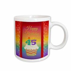 14-Ounce 3dRose Ribbon and Cake Happy 79th Birthday Stainless Steel Travel Mug