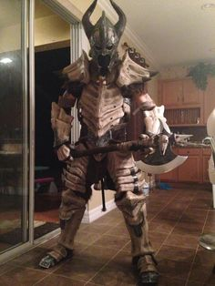 Skyrim Dragonbone Armour