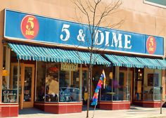 5 & Dime - I never knew there was actually a store with that name!  My mom used to say this all of the time!
