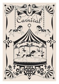 Carnival - Art work exploring motif designs regularly continued through fairground rides