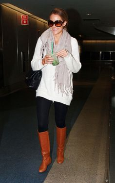 Lauren Conrad - i think she is sooo pretty and i love her style.  i want this outfit!  looks sooo cozy!