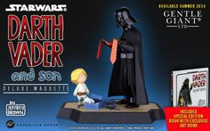 "Jeffrey Brown ilustró ""Darth Vader and Son"" y ""Vader's Little Princess"", pequeños libritos disponible en amazon.com, donde podemos imaginar lo que hubiese.."