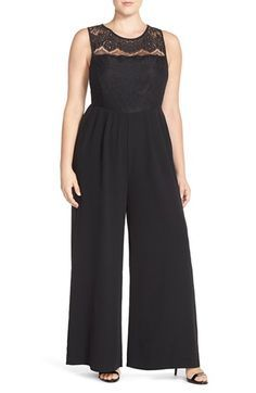 3dc536ca4852 Mynt 1792 Double Breasted Sleeveless Tuxedo Jumpsuit (Plus Size)