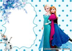 Free Printable Polkadot Frozen Invitation Templates – Bagvania intended for Frozen Birthday Card Template - Great Professional Templates Frozen Themed Birthday Party, Disney Frozen Birthday, Elsa Birthday, Girl Birthday, Birthday Parties, Free Birthday Invitation Templates, Free Printable Birthday Invitations, Birthday Card Template, Birthday Cards