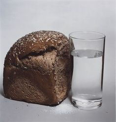 Irving Penn. Bread, Salt and Water (New York), 1980.