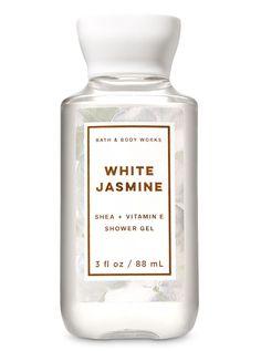 White Jasmine Travel Size Shower Gel by Bath & Body Works Bath Body Works, Lip Scrub Homemade, Homemade Facials, Lip Scrubs, Facial Scrubs, Facial Masks, White Jasmine, Lush Bath Bombs, Homemade Cosmetics