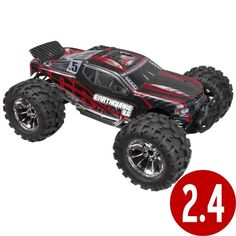 Redcat Racing Earthquake 3.5 Truck 1/8 Scale Nitro (With 2.4GHz Remote Control)