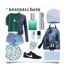 """Baseball hats 4 life❤️"" by amalie-solis ❤ liked on Polyvore featuring Michael Kors, The Hundreds, Levi's, Chicnova Fashion, LE3NO, NIKE, Christian Dior, NARS Cosmetics, baseballcap and baseballhats"