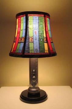 Nancy Drew lamp shade!