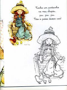 Sarah Kay para Colorir