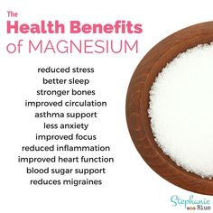 Let's talk about why you need magnesium. It's actually super important and impacts many body systems and functions. Magnesium deficiency can cause migraines, Magnesium Benefits, Magnesium Supplements, Magnesium Deficiency, Health Benefits, Oil Benefits, Magnesium Sulfate, Perfect Origins, Heart Function