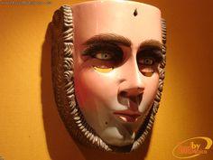 Máscara de Parachico, una de las máscaras más representativas del Estado de Chiapas