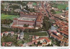 Italien - MONCALIERI - PANORAMA AEREO DEL CASTELLO - XR03182