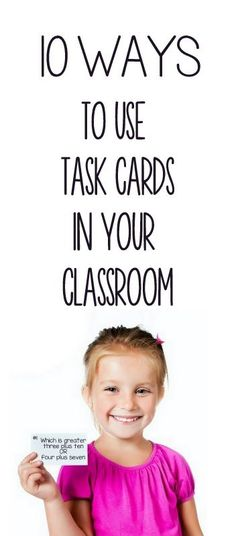 How to use task cards - 10 simple strategies you can incorporate into your classroom right now