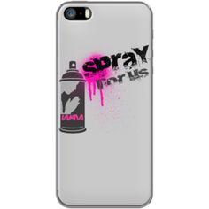 Spray for us - Grafitti is not a crime Par WAM pour Apple  iPhone 5
