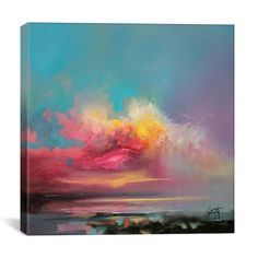 Found it at Wayfair - Cumulus Consonance Study II by Scott Naismith Painting Print on Wrapped Canvas