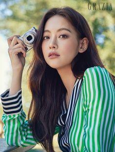 StyleKorea: The Art of Korean Fashion — Oh Yeon Seo for Grazia Korea April 2017....